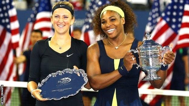Serena Williams è la regina di New York battuta in finale la bielorussa Azarenka