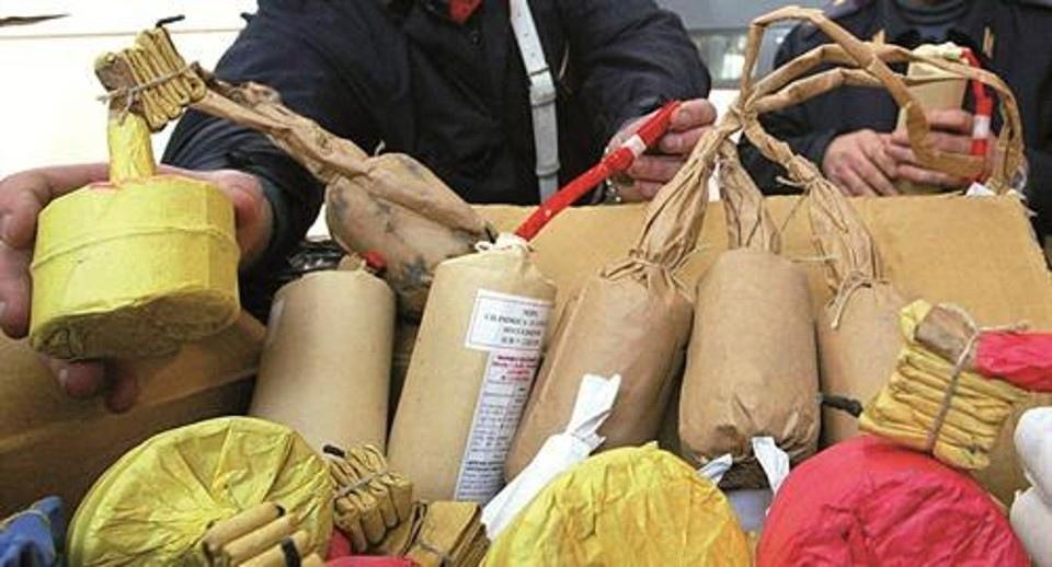 Roma, sequestrati 600 kg di botti di Capodanno