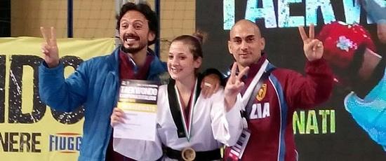Zocco e Clementi sul podio più alto per i Campionati seniores di taekwond