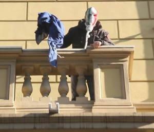 Simone Di Stefano di Casa Pound condannato a tre mesi di reclusione