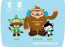 Tre le mascotte dei giochi invernali. Orso, leopardo e lepre, con le loro favole
