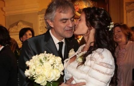 Andrea Bocelli ha sposato Veronica Berti madre di sua figlia Virginia e sua manager