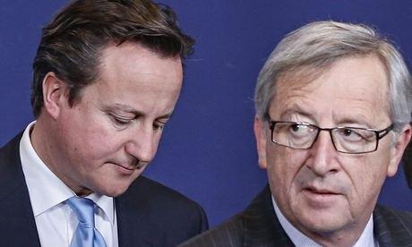 Juncker presidente Commissione europea ma Cameron è contrario, e vota contro