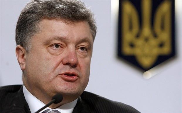 Poroshenko vuole fermare la guerra Ucraina lunedì un incontro sul gas a Bruxelles