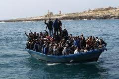 Due barconi in arrivo, uno naufraga. Dieci morti, quaranta dispersi