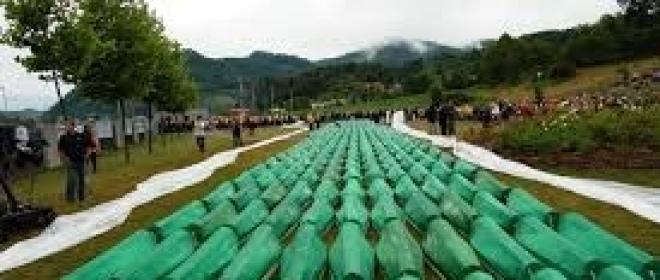 Aree umanitarie in Bosnia-Erzegovina e il massacro di Srebrenica
