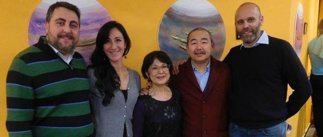 Il suono della pittura del Maestro Shuhei Matsuyama con la mostra Shin-On