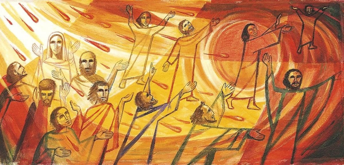 La festa dello Spirito Santo vivificante. La potenza d'amore che viene dall'alto