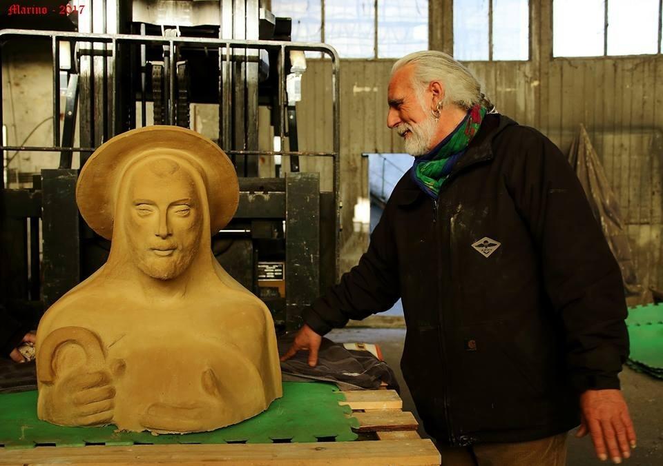 Ivan Cuvato tra gli artisti protagonisti del. «Presepe degli Abissi» di Albisola