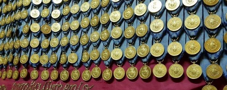Volontari di Guerra... Eroi nazionali che fanno parte dell'Albo della Gloria