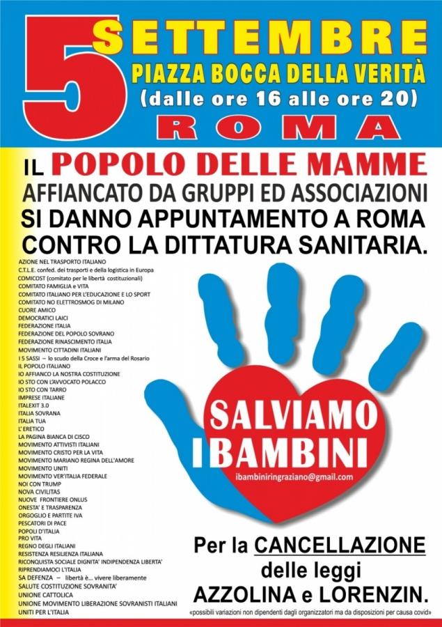 Una grande manifestazione a Roma in difesa dei valori non negoziabili